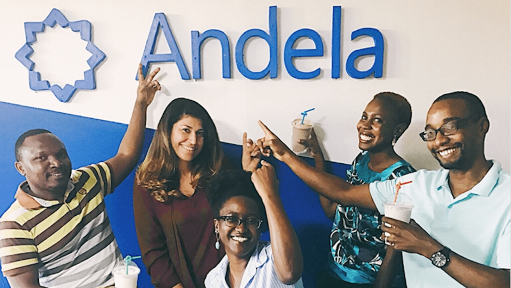 Andela - Driving access to global top-tier engineering talent.